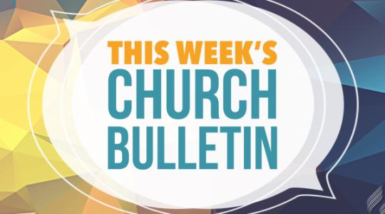 Bulletin 20 September 2020