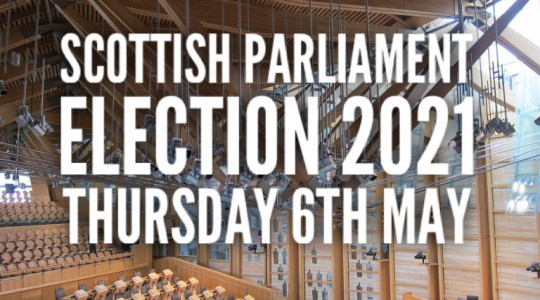 Scottish Parliamentary Election 6 May 2021
